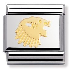 Nomination CLASSIC Gold Zodiac Leo Charm 030104/05