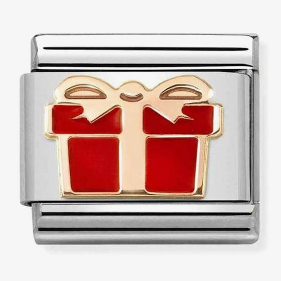 Nomination Composable CLASSIC Symbols Red Gift Box Charm