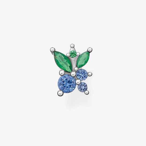 THOMAS SABO Sterling Silver Blueberry Single Stud Earring