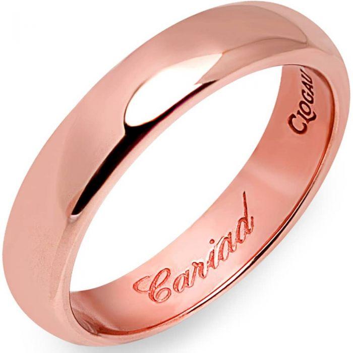Clogau 9ct Rose Gold 4mm Windsor Wedding Ring