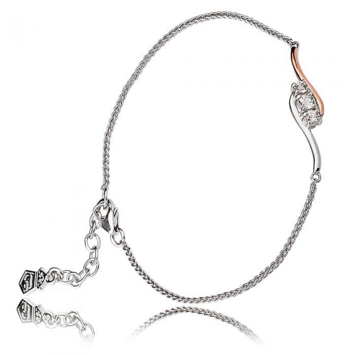 Clogau Spirit Of Christmas Swarovski Topaz Bracelet