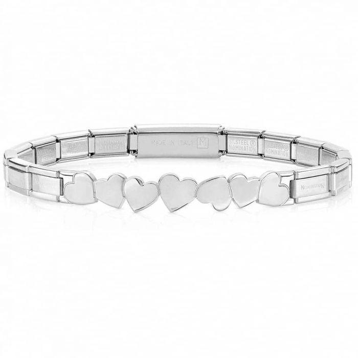 Nomination Trendsetter Hearts Bracelet
