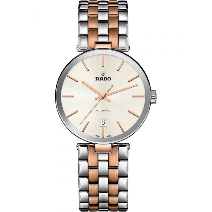 Rado Mens Florence Automatic Two Tone Steel Bracelet Watch
