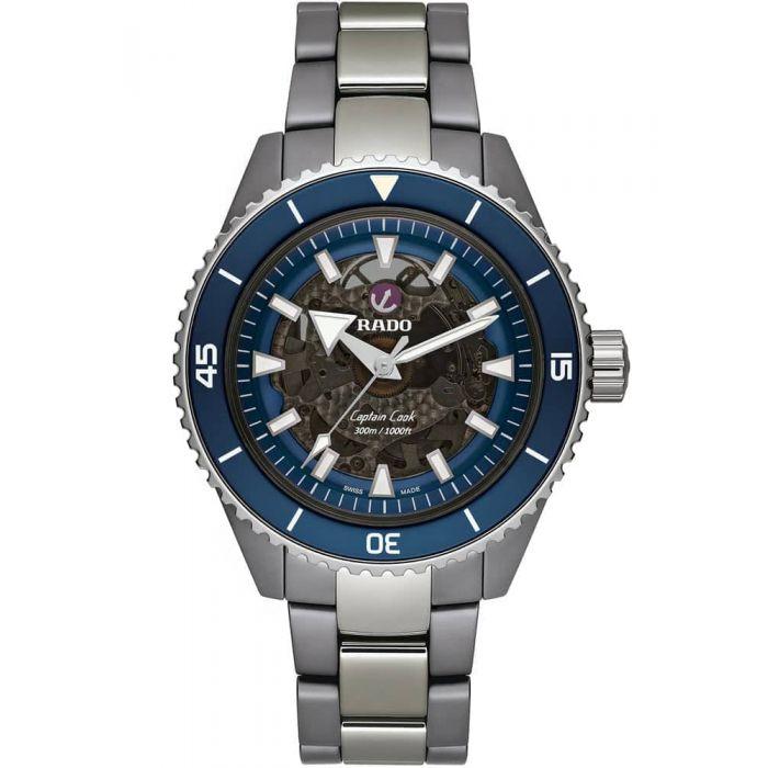 Rado Captain Cook High-Tech Ceramic Watch