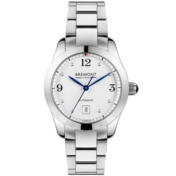 Bremont SOLO-32 AJ White Dial Bracelet Watch