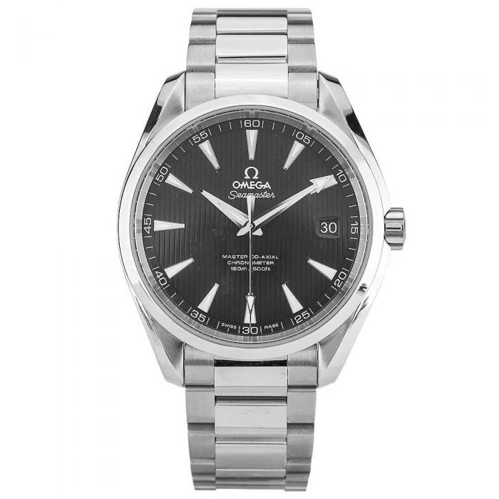 Second Hand Watches >> Second Hand Omega Seamaster Aqua Terra Black Bracelet Watch 231 10 42 21 01 003