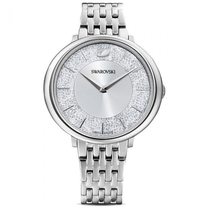 Swarovski Ladies Crystalline Chic Silver Bracelet Watch