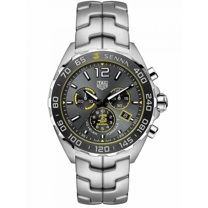 TAG Heuer Mens Formula 1 Senna Special Edition Bracelet Watch
