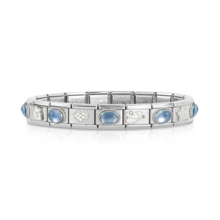 Nomination CLASSIC Sparkling Blue Bracelet