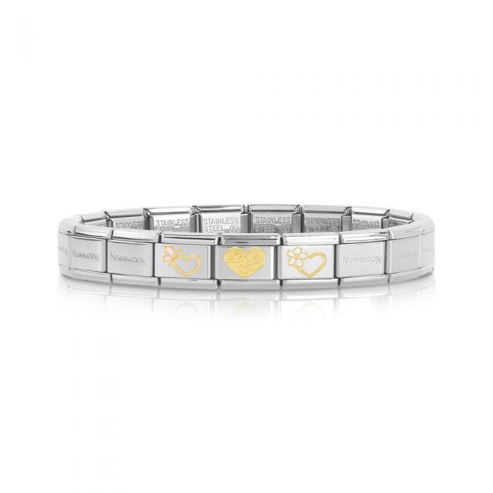 Nomination CLASSIC Love Hearts Bracelet