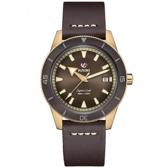 Rado Mens Captain Cook Strap Watch
