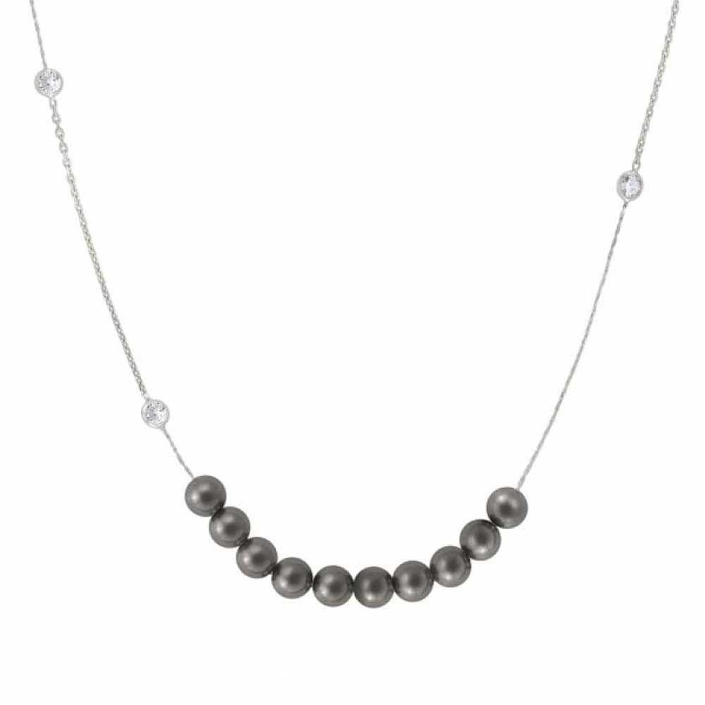Nomination Bella Grey Pearl Necklace