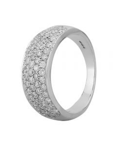 18ct White Gold 1.00ct Diamond Pavé Ring SKR2910-100