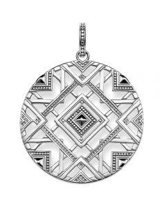 THOMAS SABO Ladies Glam And Soul Silver Africa Ornaments Pendant PE744-637-21