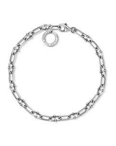 Thomas Sabo Silver Oxidised Open Link Bracelet X0255-637-21