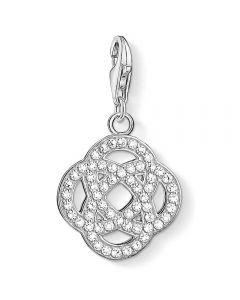THOMAS SABO Silver Cubic Zirconia Infinity Charm 1330-051-14