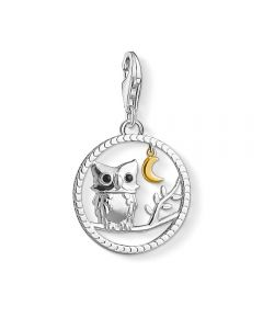 Thomas Sabo Silver Night Owl Charm 1392-427-11