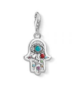 THOMAS SABO Charm Club Hand of Fatima Charm 1464-333-7