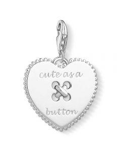 THOMAS SABO Silver Cute Heart Charm 1485-001-21