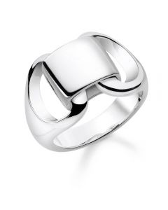 Thomas Sabo Sterling Silver Large Linked Ring TR2239-001-21