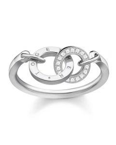 Thomas Sabo Sterling Silver Together Ring TR2141-051-14