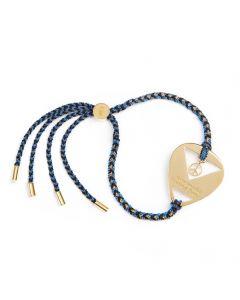 Daisy London Laura Whitmore Gold Plated You Make Loving Fun Bracelet LWBR12