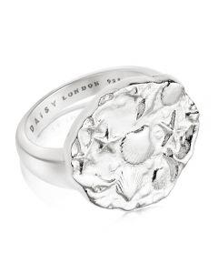 Daisy London Isla Sterling Silver Fossil Ring SSR01_SLV