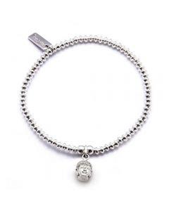 ChloBo Iconic Mini Buddha Head Charm Bracelet CCB5