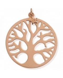 ChloBo Rose Gold Plated Tree of Life Pendant Charm RP633