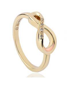 Clogau 9ct Gold Diamond Eternity Ring ETDR4/N