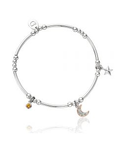 Clogau Out Of This World Affinity Bead Bracelet 3SBBR20 17-18CM