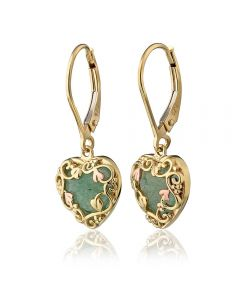 Clogau 9ct Gold Two Colour Enchanted Forest Earrings ENCDE