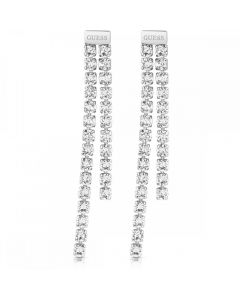 Guess Party Time Crystal Dropper Earrings UBE29073