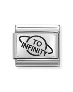 Nomination CLASSIC Silvershine To Infinity Planet Charm 330109/24