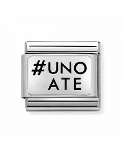 Nomination CLASSIC Silvershine #Uno A Te Charm 330109/31