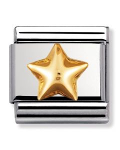 Nomination CLASSIC Gold Daily Life Raised Star Charm 030110/12