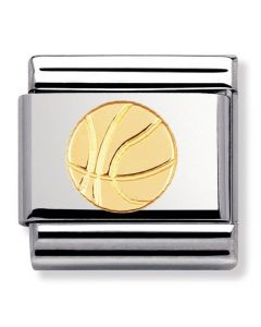 Nomination CLASSIC Gold Sports Collection Basket Ball Charm 030106/12