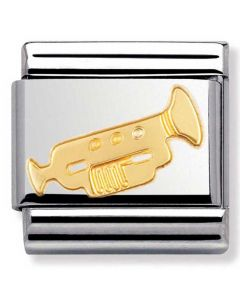 Nomination CLASSIC Gold Music Trumpet Charm 030117/04