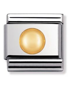 Nomination CLASSIC Gold Daily Life Big Dot Charm 030110/13