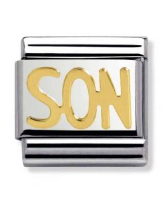 Nomination CLASSIC Gold Writings Son Charm 030107/26