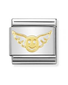 Nomination CLASSIC Gold Symbols Angel Of Happiness Charm 030162/46