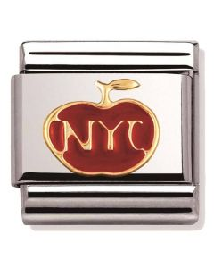 Nomination CLASSIC Gold The Big Apple Charm 030243/19
