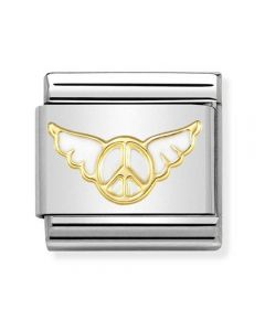 Nomination CLASSIC Gold Symbols Angel Of Inner Peace Charm 030272/31
