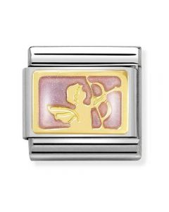 Nomination CLASSIC Gold Plates Angel Of Attraction Charm 030284/32