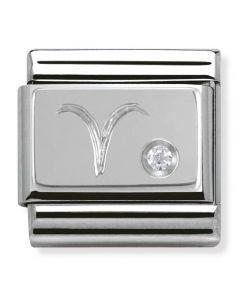 Nomination CLASSIC Silvershine Zodiac Aries Charm 330302/01