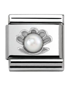 Nomination CLASSIC Silvershine Honolulu Oyster Charm 330501/03