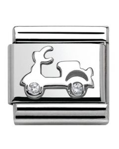 Nomination CLASSIC Silvershine Symbols Scooter Charm 330311/03