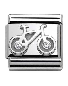 Nomination CLASSIC Silvershine Symbols Bicycle Charm 330311/04