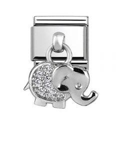 Nomination CLASSIC Silvershine Elephant Charm 331800/17