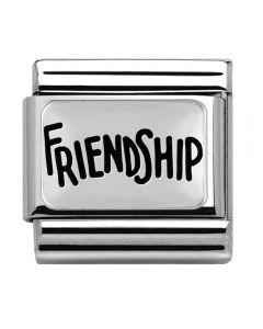 Nomination CLASSIC Silvershine Friendship Charm 330102/40